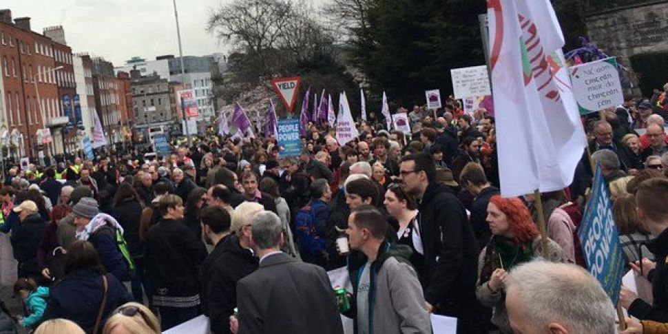 Thousands Join Protest Demanding Action On Housing Crisis
