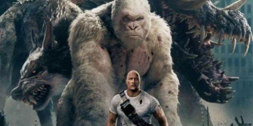 Rampage Is Released In Cinemas...