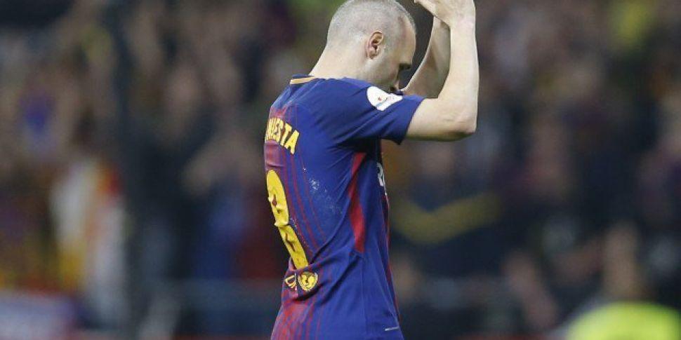 Will Iniesta's exit mark t...