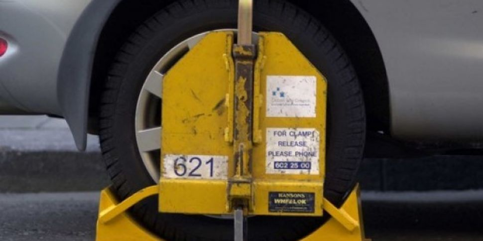 Dublin Drivers Clamped During...