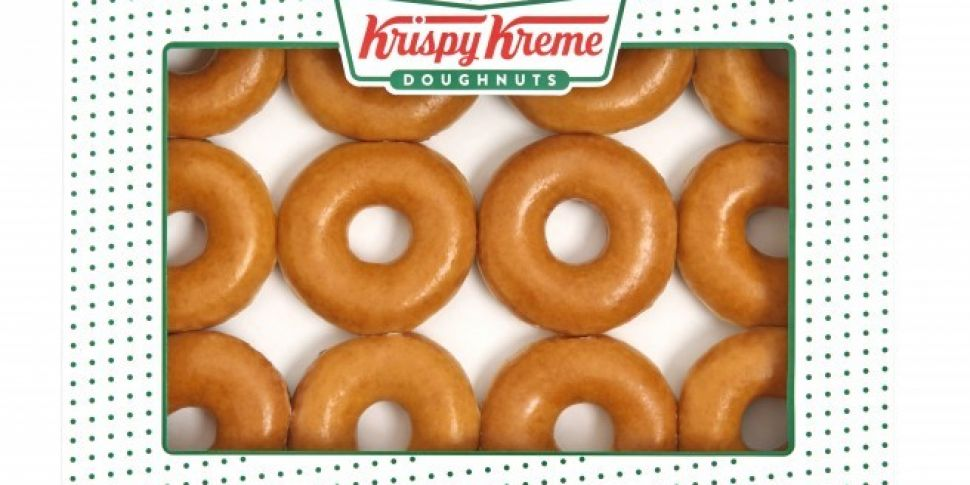 A Krispy Kreme Pop Up Has Opened In Dublin