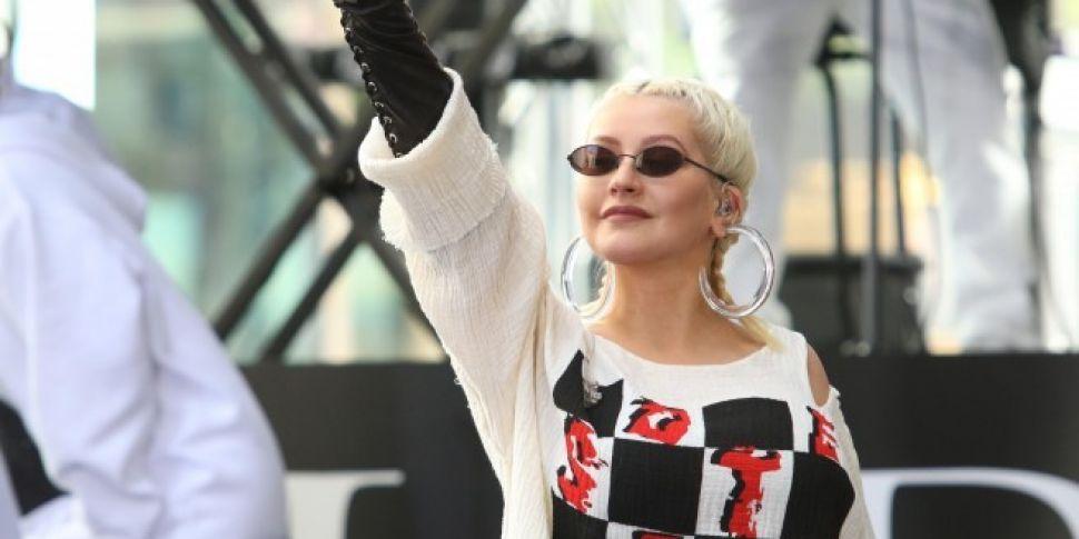 Christina Aguilera Played A Secret 3Arena Gig Last Night