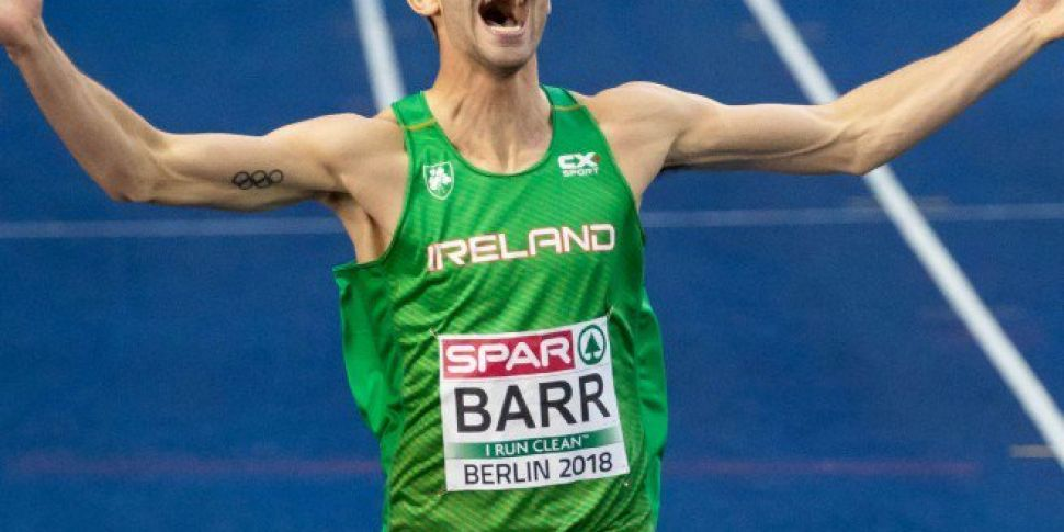 What a moment for Thomas Barr!...