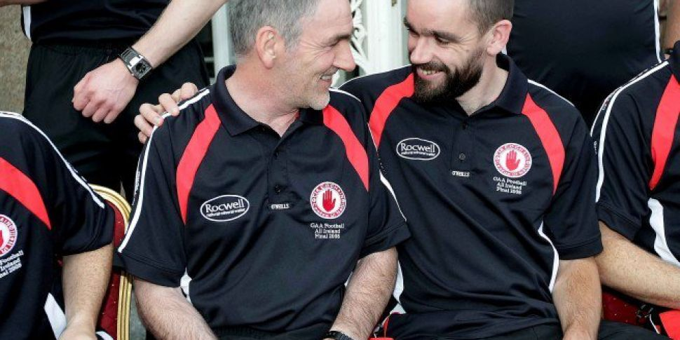 WATCH   Mickey Harte's had a bone to pick with Ricey McMenamin over a long forgotten fixture