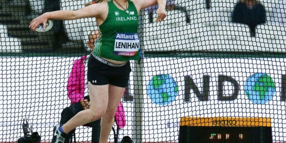Noelle Lenihan wins gold for...