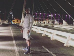 Kevin Hart Spotted Out Jogging In Dublin After 3Arena Gig