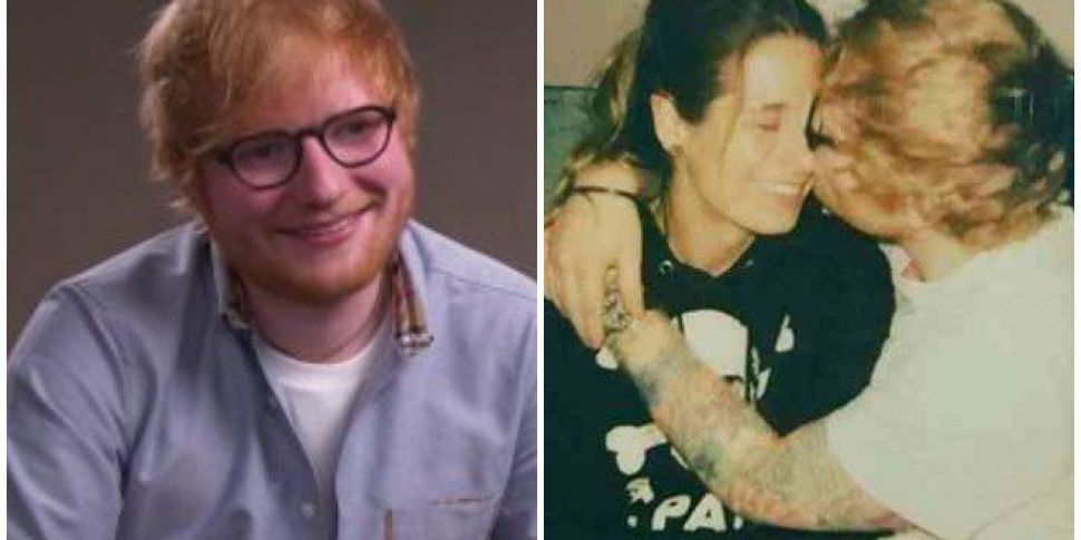 WATCH: Ed Sheeran Hints He&#39...