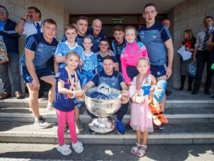 The All-Ireland Champions Visit Kids In Crumlin