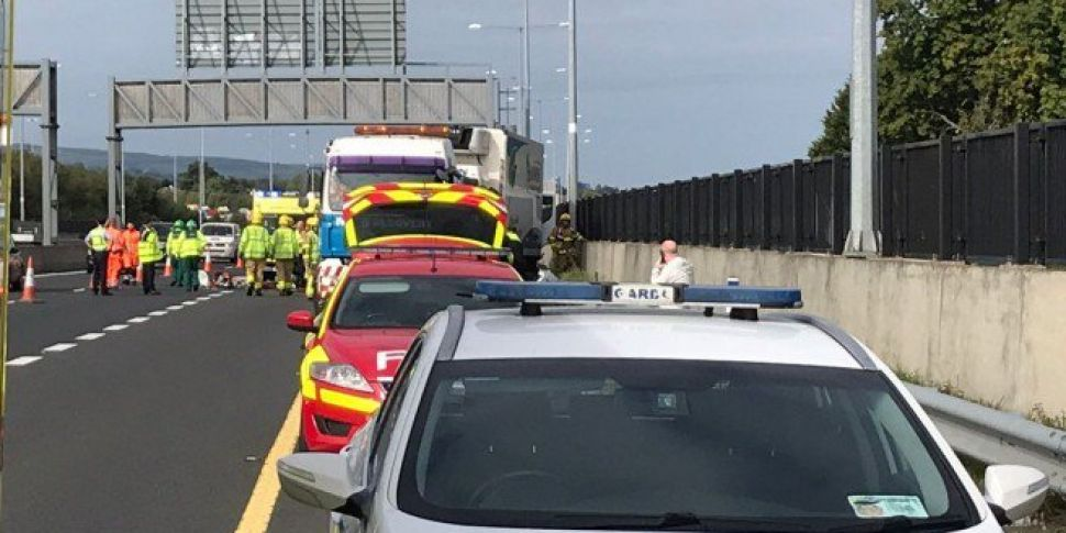 Man Seriously Injured In M50 C...