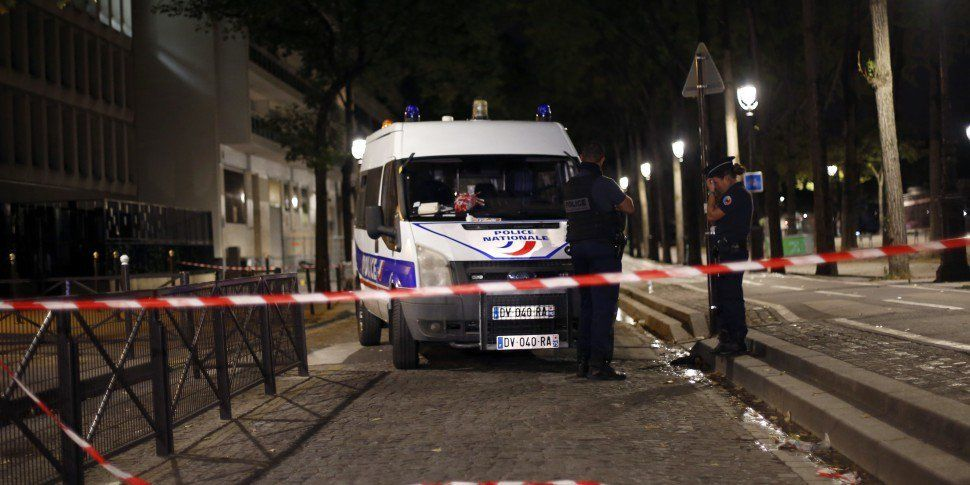 Knife Attack In Paris Leaves S...