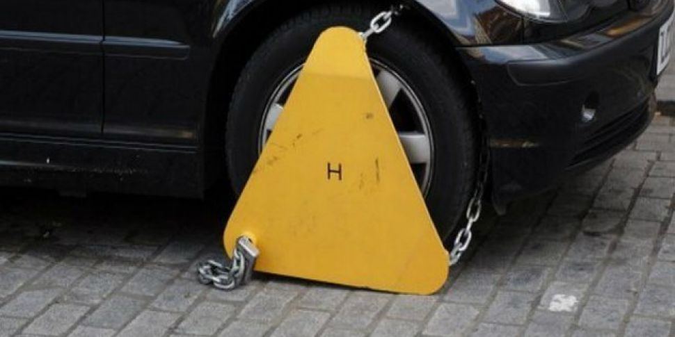 Dublin Dad Clamped Outside Hos...