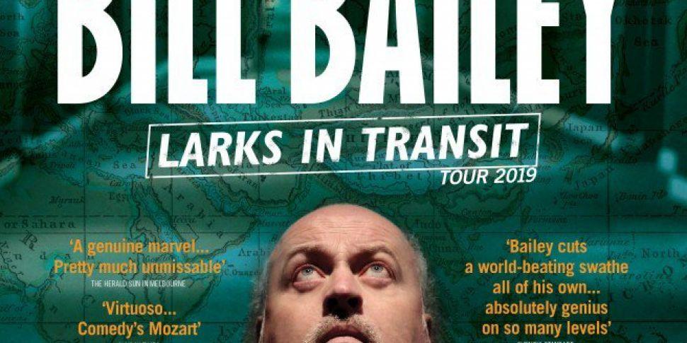 Bill Bailey Announces 3Arena D...