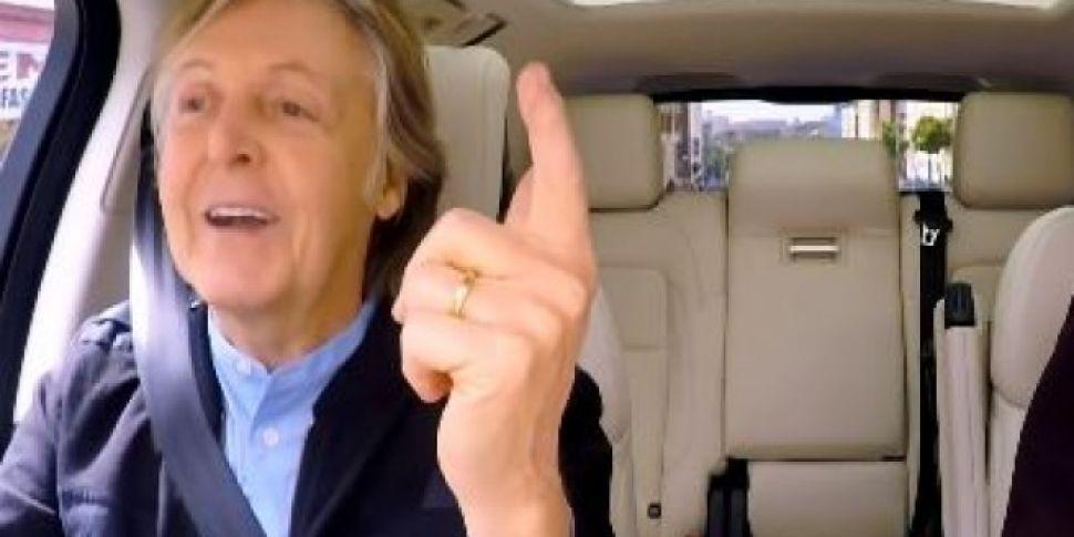 Watch Paul McCartney's Car...