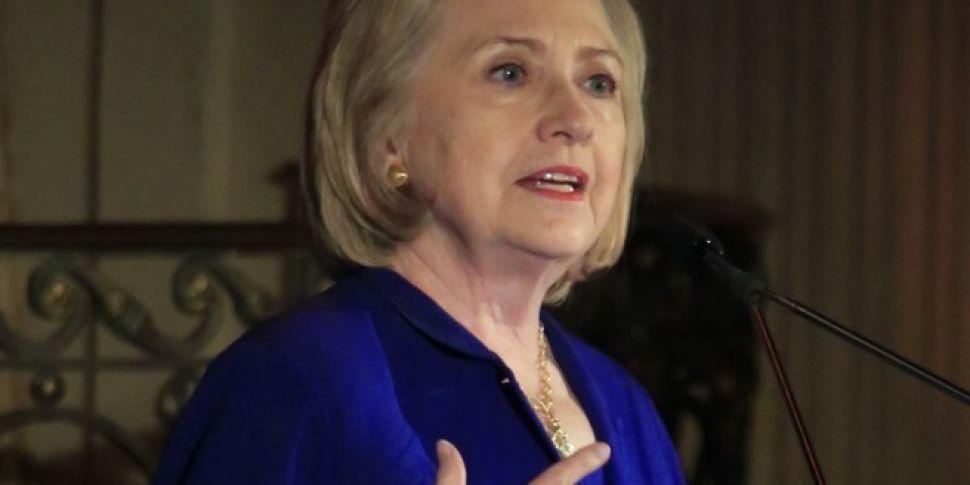 Hillary Clinton To Receive Honorary Trinity Degree
