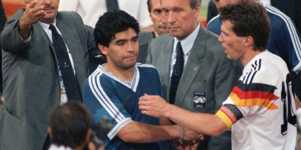 Maradona was in foul-mouthed h...
