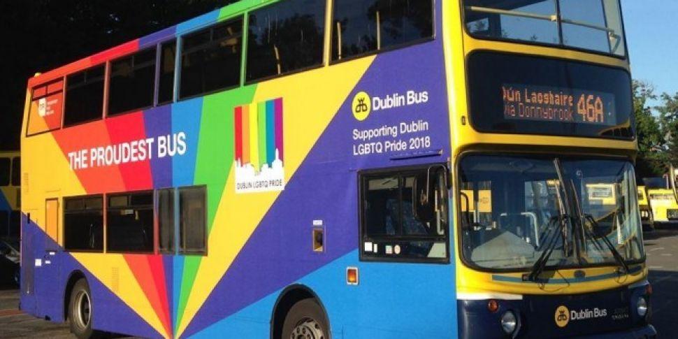 Dublin Bus Gets Colourful For...
