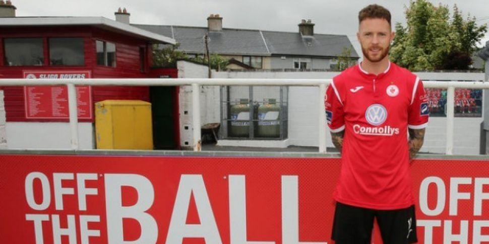 Sligo Rovers bring Lee Lynch back to the Showgrounds