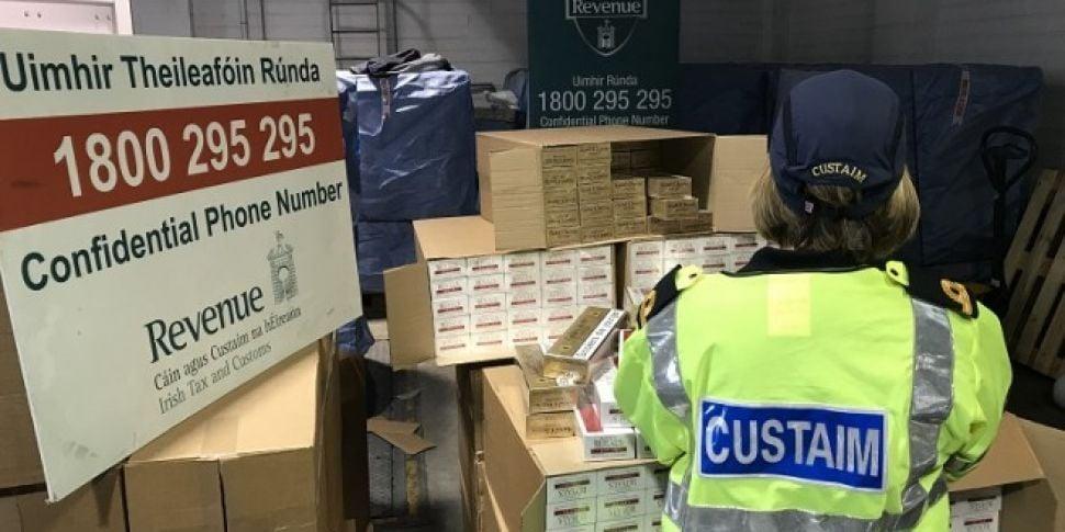 €4.3M Illegal Cigarettes Seized At Dublin Port