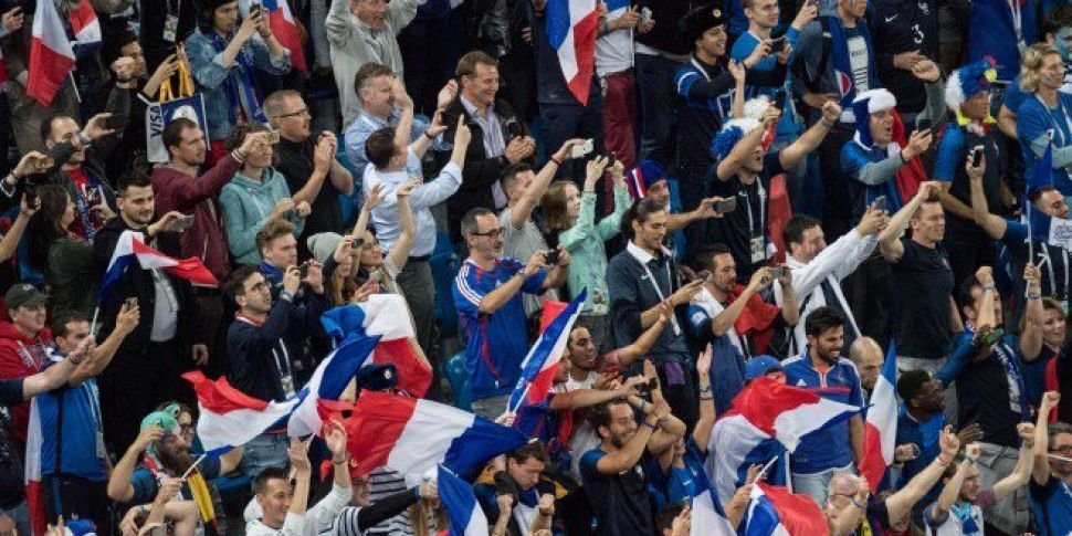 Are the French fans happy with the team's performance?