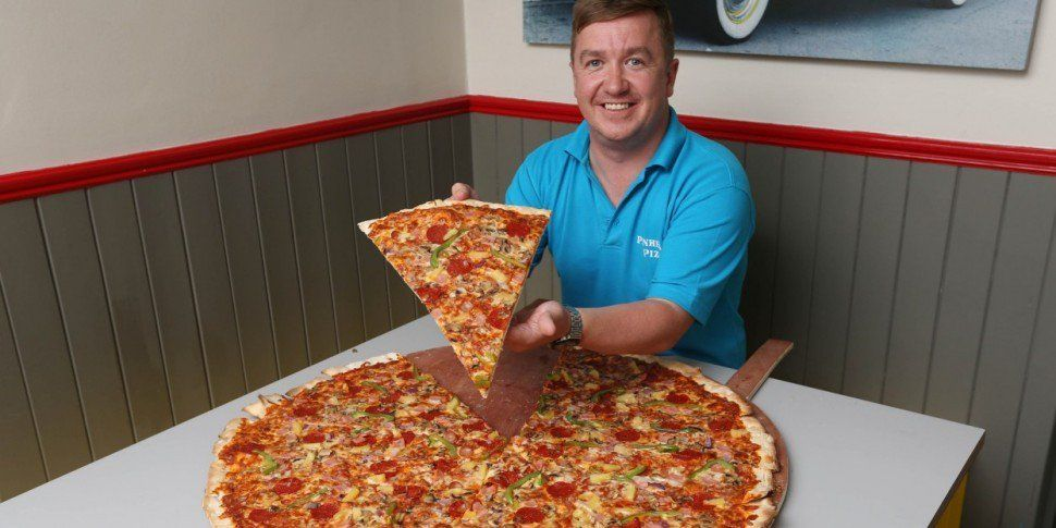 Could You Complete Ireland's Largest Pizza Eating Challenge?