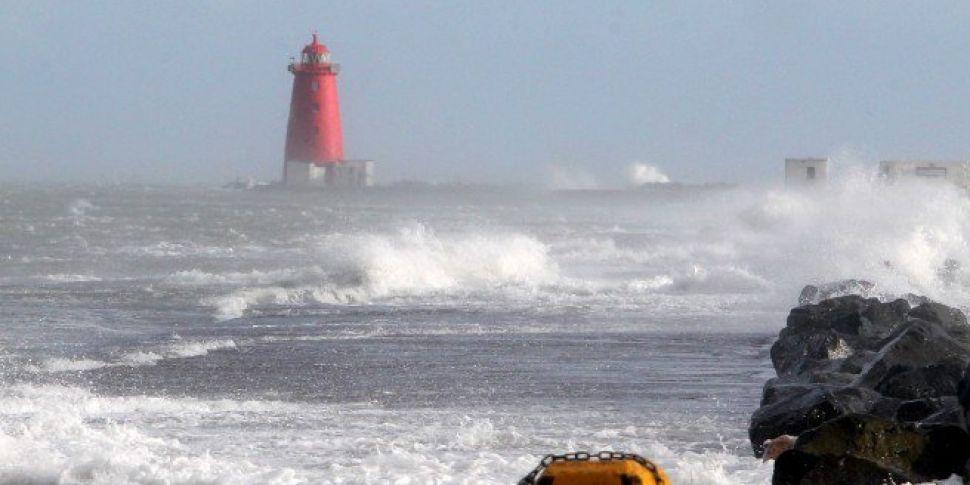Storm Callum Due To Hit Dublin...