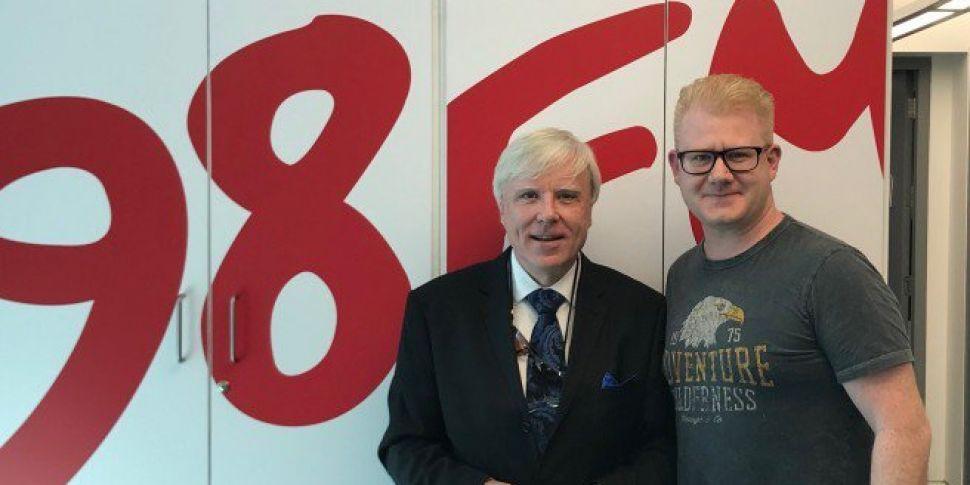 Francis Brennan Chats To 98FM&...
