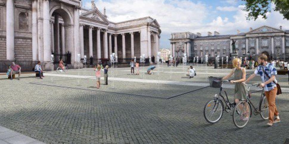 College Green Pedestrian Plaza...