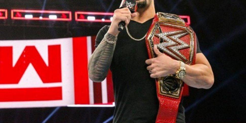 WWE champion Roman Reigns reli...