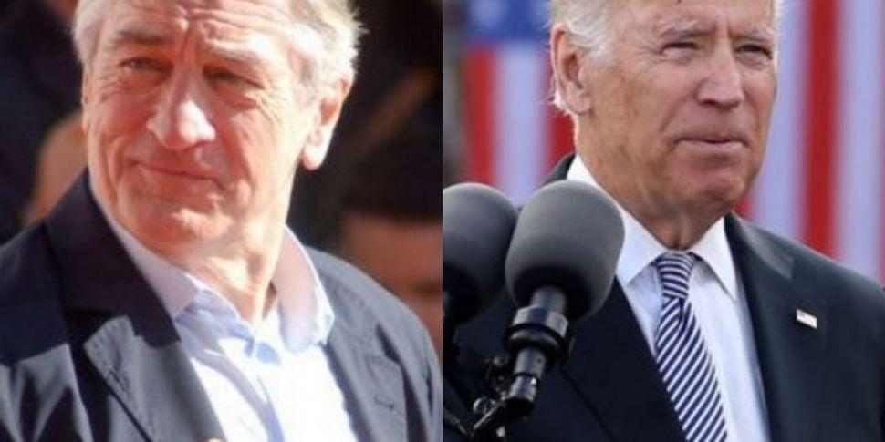 Robert De Niro And Joe Biden T...