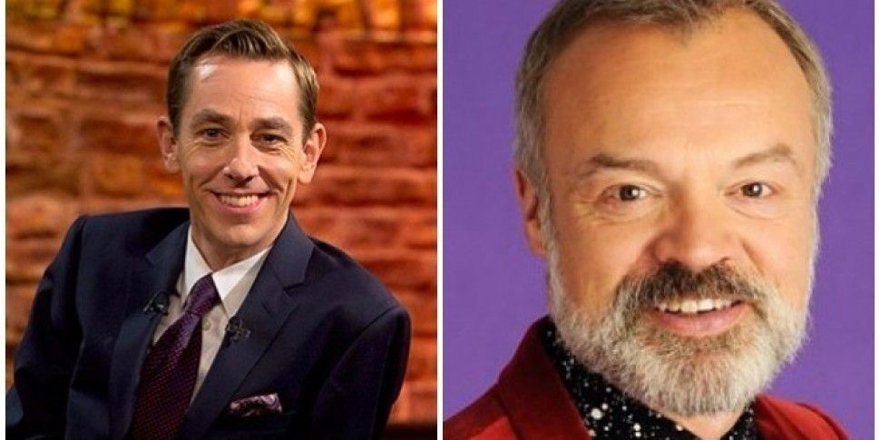 Graham Norton And Late Late Line Up For Tonight