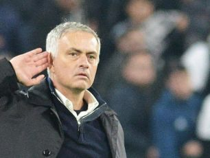 "John Giles' bemused reaction to Mourinho's ""childish"" celebration at Juventus"