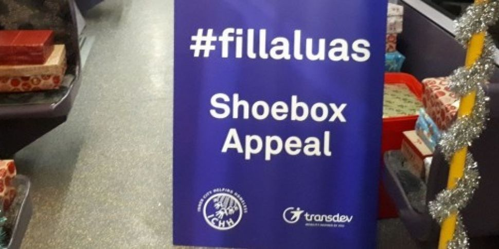 The Luas Christmas Shoebox Appeal Is Becoming A Week-Long Event