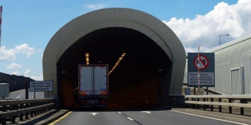 UPDATE: The Port Tunnel Southbound Has Been Reopened