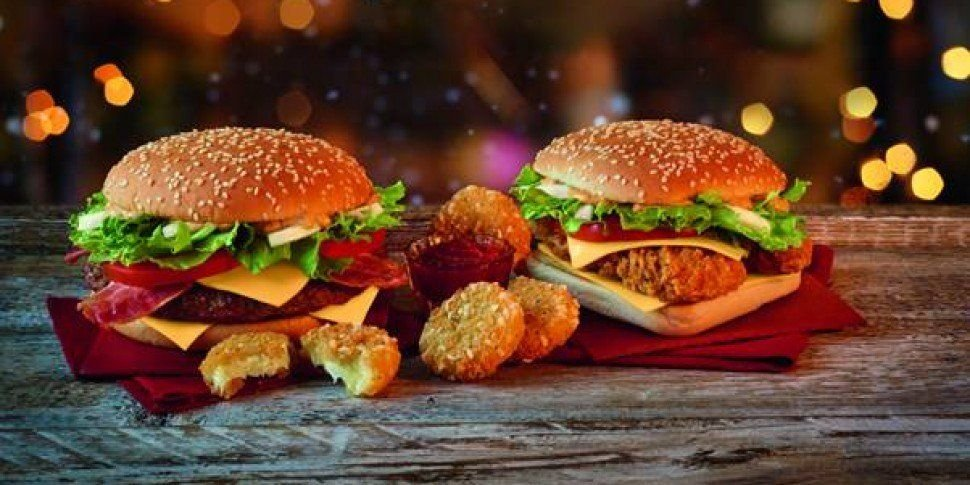 McDonald's Festive Menu Is Here