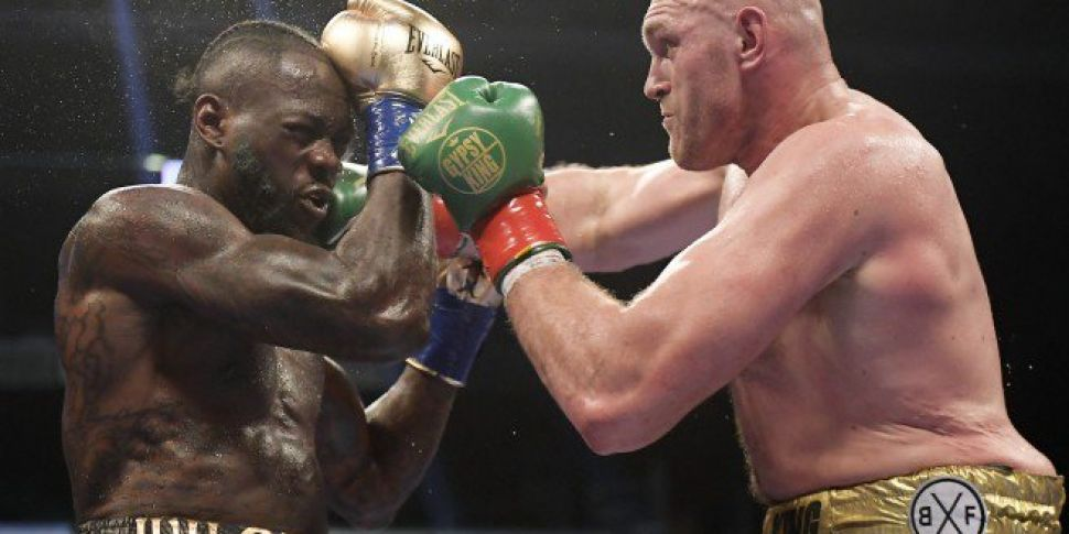 Fury-Wilder ends in incredible...