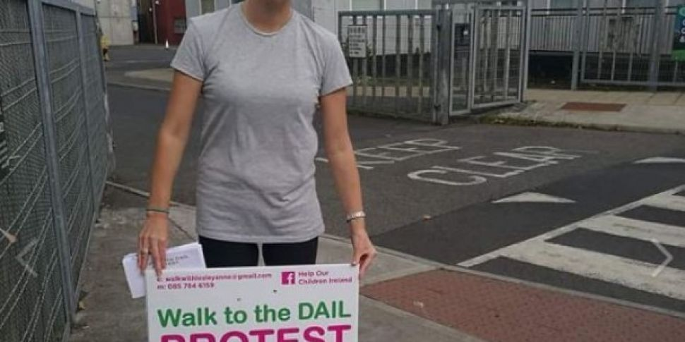 Dublin Mum Walking To The Dail Today In Protest Over Health System