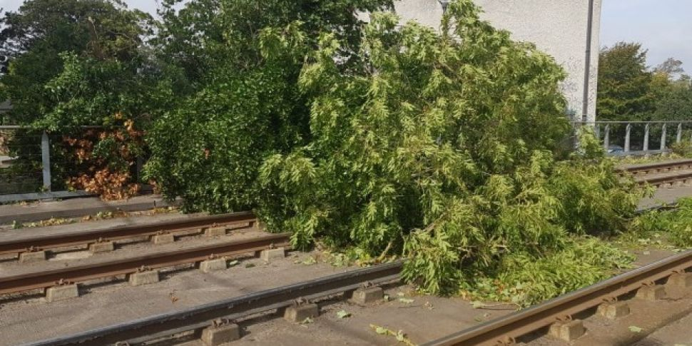 Much Of The Luas Green Line Will Remain Closed On Thursday Morning After Storm Ali