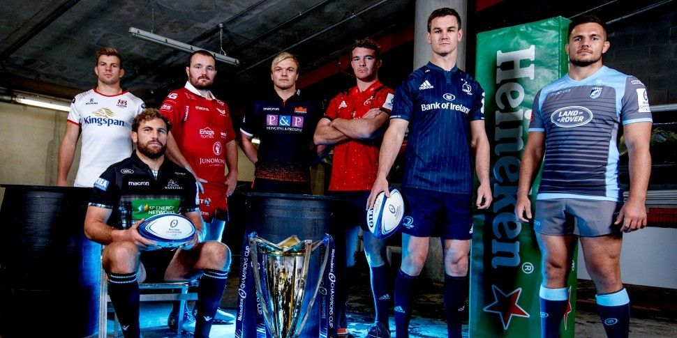 WATCH | We catch up with Sexton, O'Mahony, Jordi Murphy and co at the Heineken Champions Cup launch