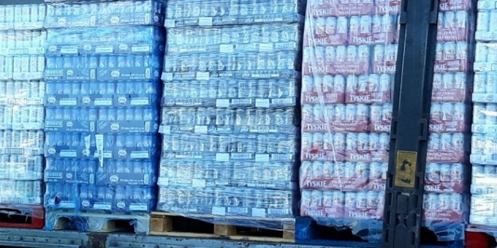 25,000 Litres Of Beer Seized At Dublin Port