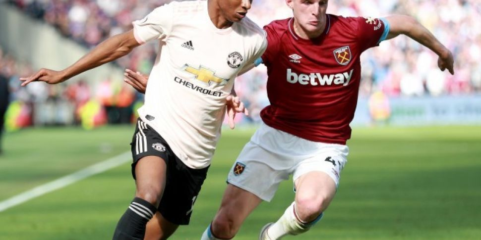 Declan Rice against Man United | The positional and personality game