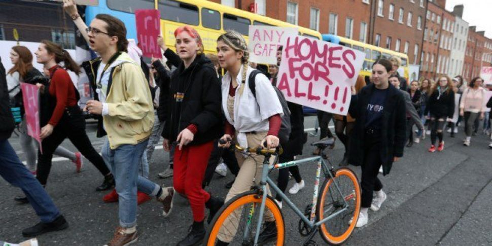 Thousands Protest Over Housing