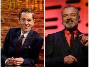 Tonight's Late Late & Graham Norton Show Line Up