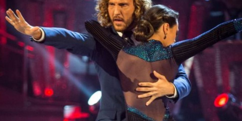 Seann Walsh Kisses Married Strictly Partner