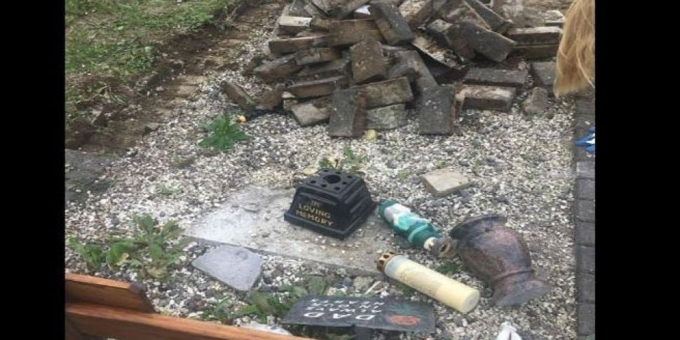 Disgust Over What Happened To This Grave In Lucan