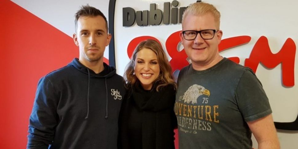 Amy Huberman Brings Joy To 98FM's Big Breakfast