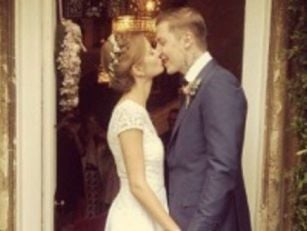 Professor Green gets hitched