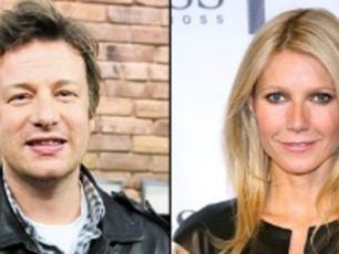 Gwyneth Paltrow's Jamie Oliver cooking lessons