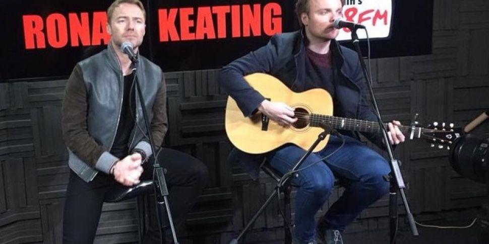 Rónan Keating Pays a Visit to...