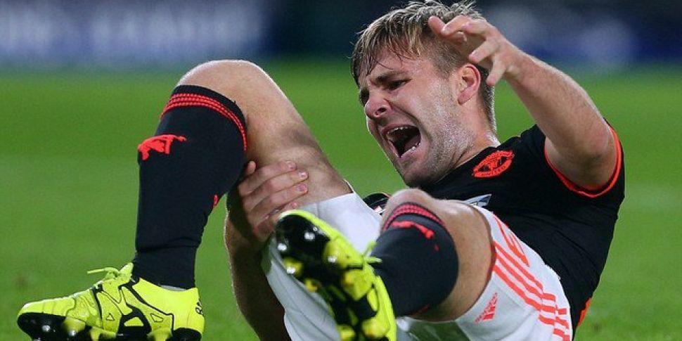 Louis van Gaal: Shaw in good spirits despite horrific double