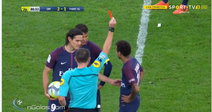 Watch Nonsense Playacting Sees Neymar Sent Off For Psg Balls Ie